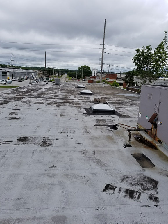 Complete Removal and Replacement, Cleveland, OH - Atlas industrial commercial roofing Cleveland Ohio 1