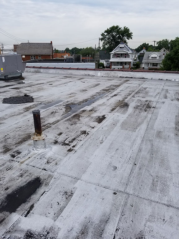 Quality Fibered Aluminum Coating, Cleveland, OH - Atlas industrial commercial roofing Cleveland Ohio 3