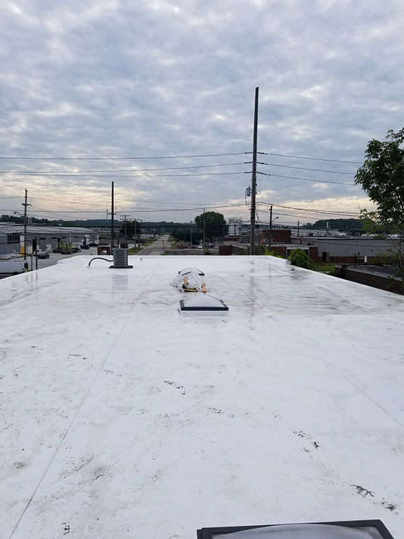 Complete Removal and Replacement, Cleveland, OH - Atlas industrial commercial roofing Cleveland Ohio 4
