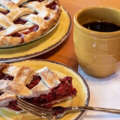 Daily Fresh Baked Pies and Coffee!