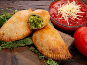 Calzone - Spinach