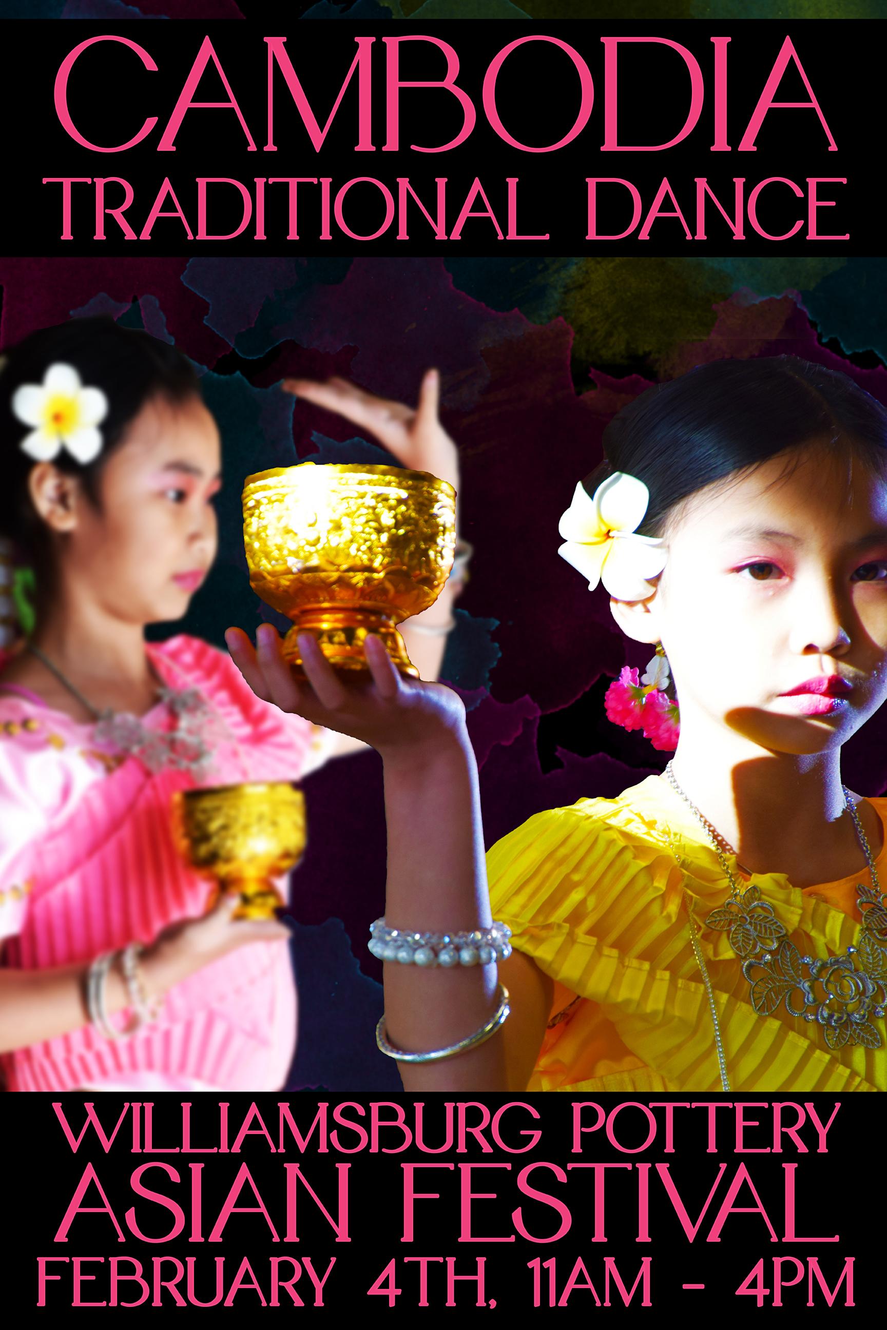 Cambodia Traditional Dance