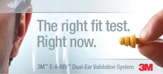 Health and Safety Sciences is a provider of the 3M EAR-fit Dual-Ear Validation System.