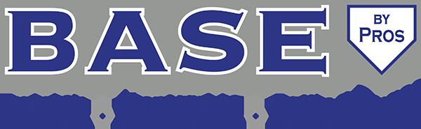 BASE by Pros Baseball and Softball Training Academy Logo
