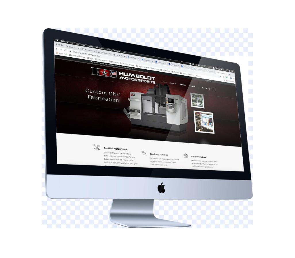 professional web design and management service in eureka, california