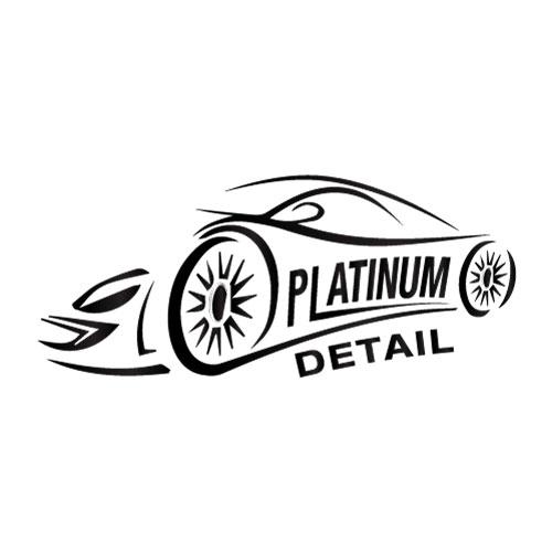 platinum-auto-detail-fortuna-ca-logo-design