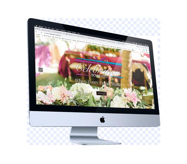 Web Design for Event Coordinator in Eureka, California