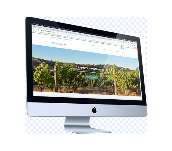 Web Design for Family Law Attorney in Santa Rosa, California