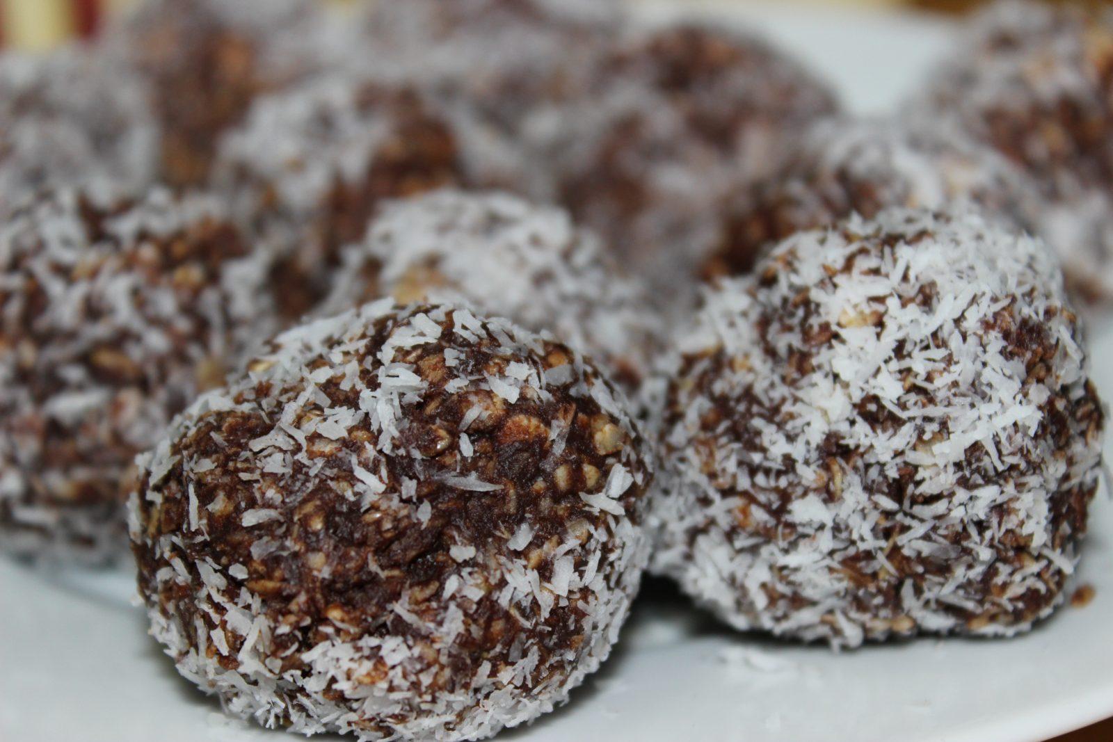 recipe pic Choco coconut balls
