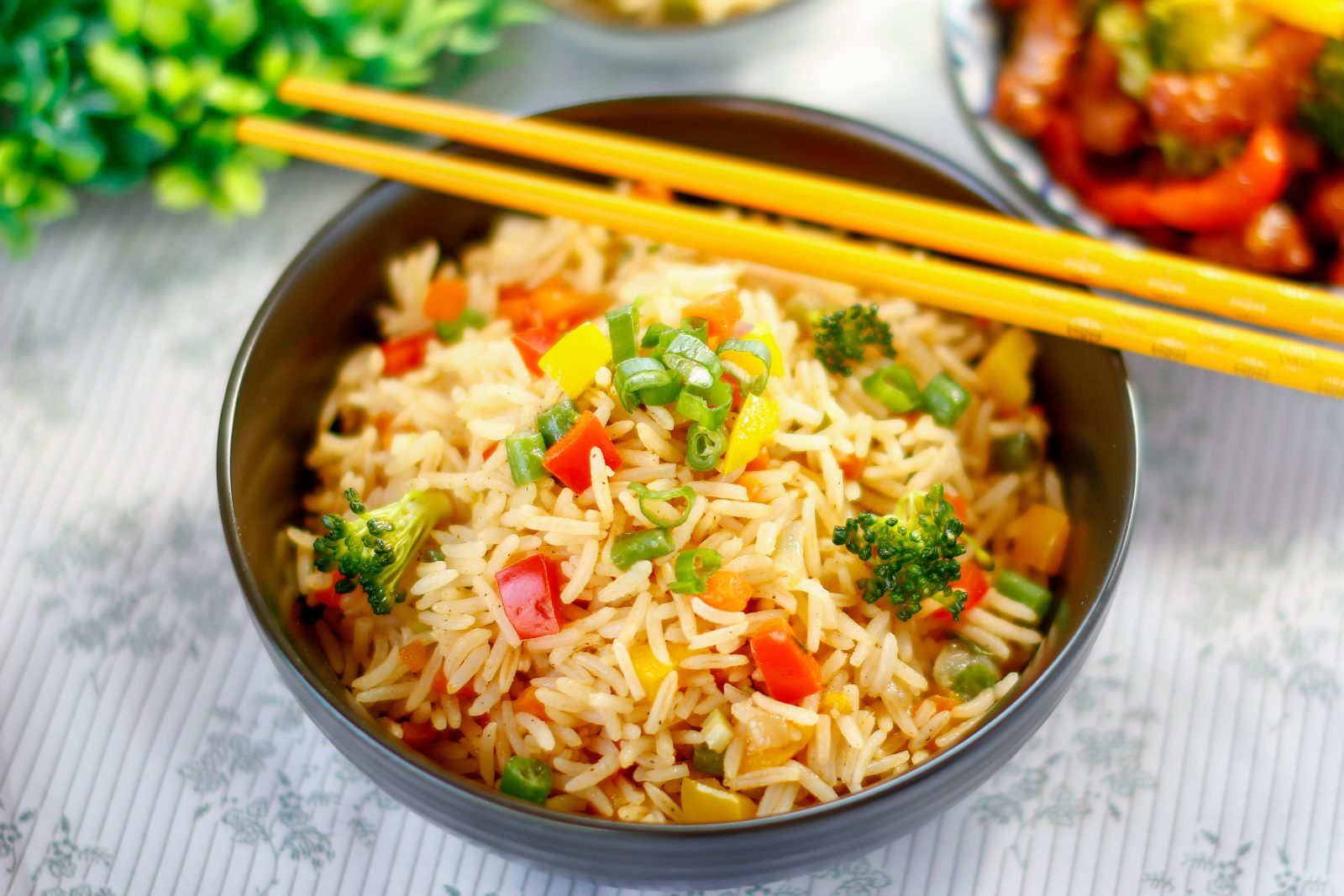 large veggies rice recipepic