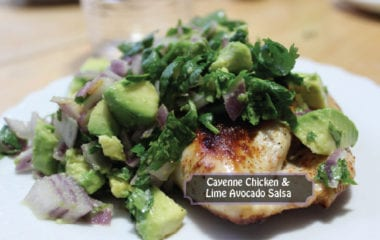 nutraphoria chicken lime avacado salsa recipe