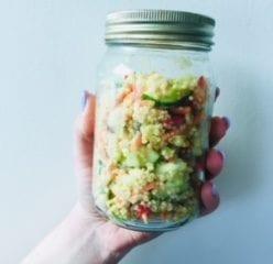 Quinoa Salad Nutraphoria