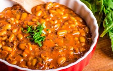 Vegan Bean Casserole Nutraphoria