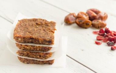 No-Bake Healthy Granola Bars