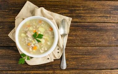 Chicken Vegetable Barley Stew