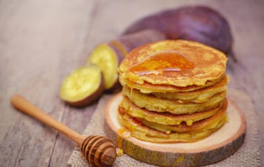 GF Sweet Potato Pancakes