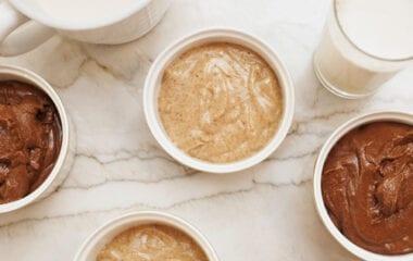 Chocolate & Almond Butter Baked Oats