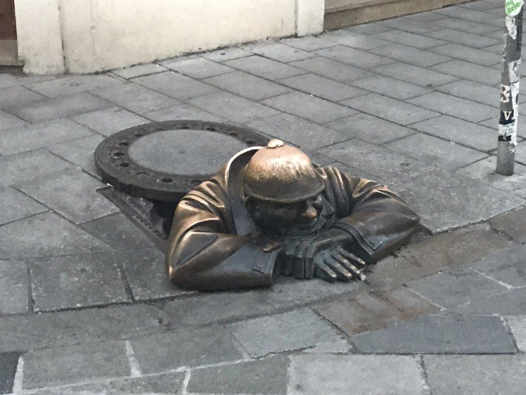 Statues in Bratislava