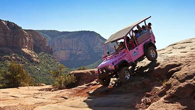Pink Jeep Sedona Tour Broken Arrow Tour