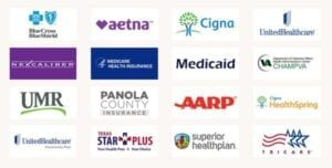 Insurance plans accepted by Dr. Sowell - mobile picture of all logos