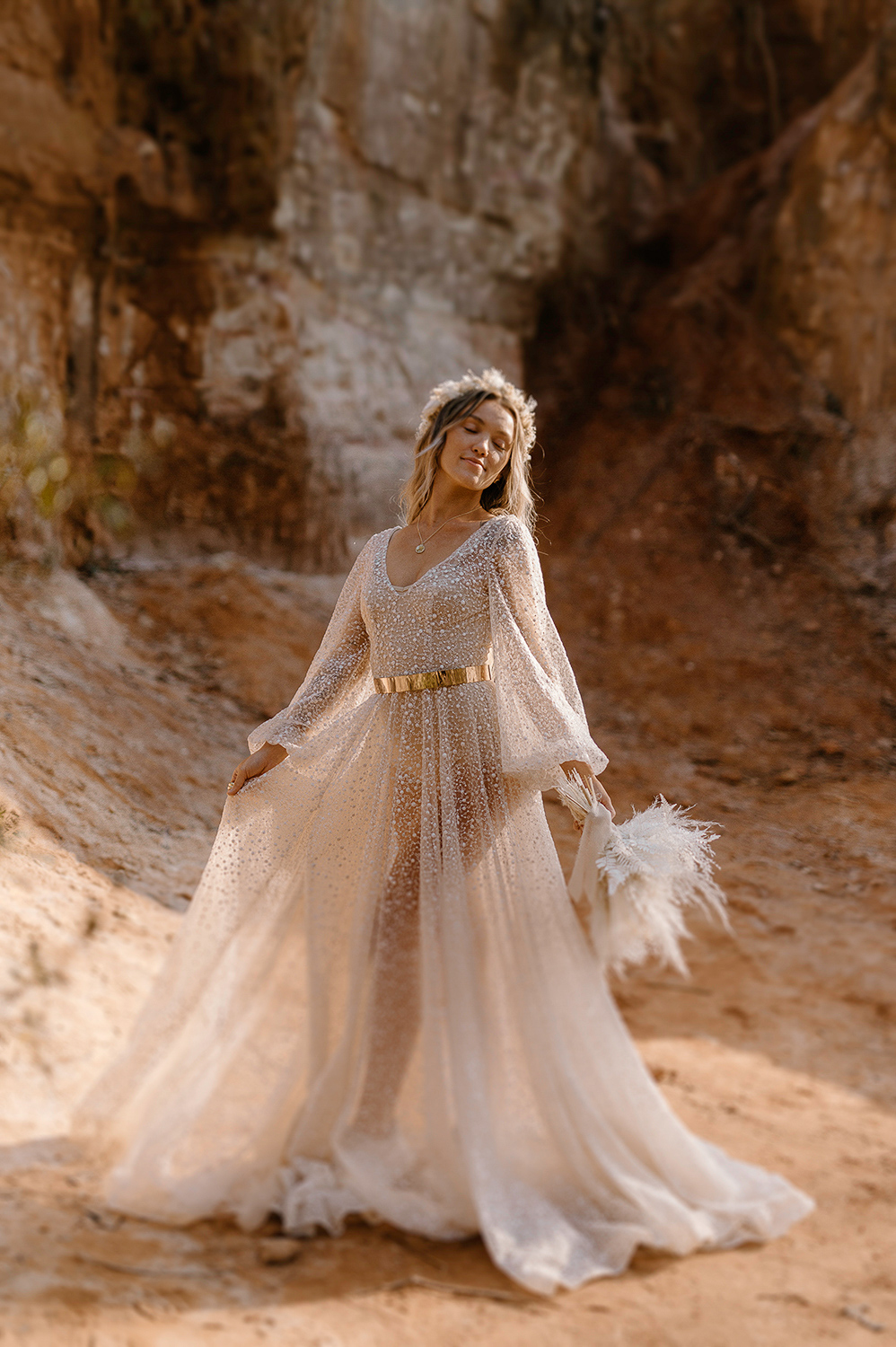 Elopement at Providence Canyon State Park