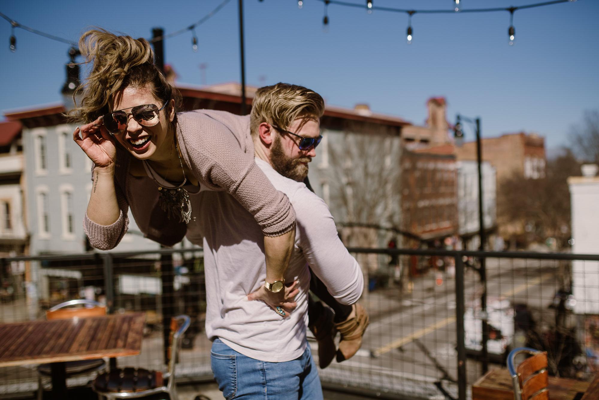 Raleigh NC Engagement Photographer