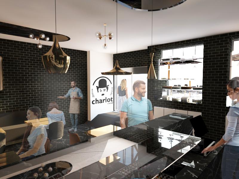 Imagem 3D do Interior