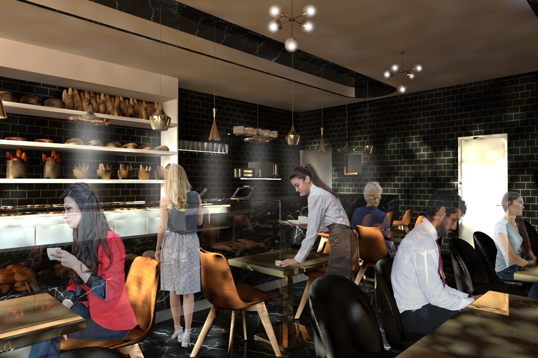 Design Interior Pastelaria Charlot