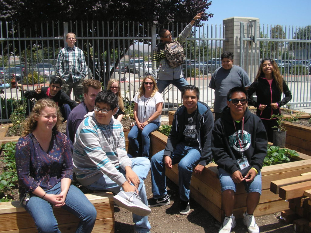 Pioneer Valley High School School Garden Grant Recipient