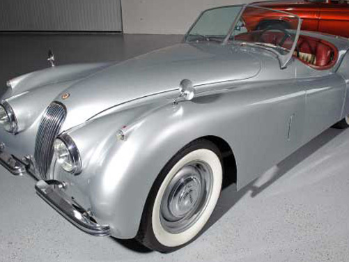 1954 Jaguar XK120 Convertible – $150,000