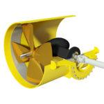 HYDROMASTER engine driven tunnel thruster