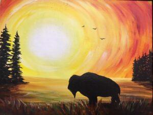 Buffalo Roam - Family Night! @ Tipsy Brush