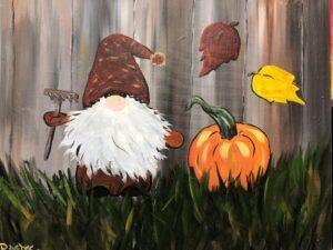 Fall Gnome @ Tipsy Brush