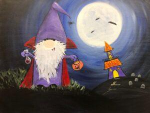 Halloween Gnome @ Tipsy Brush