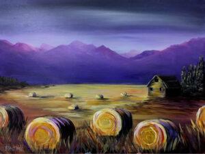 Hay Bales @ Tipsy Brush