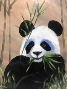 Panda @ Tipsy Brush