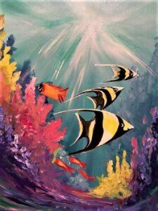 Tropical Fish @ Tipsy Brush