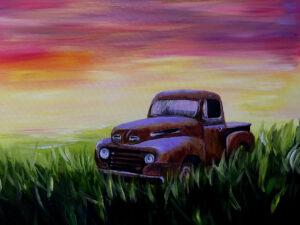 Rusty Truck @ Tipsy Brush
