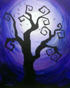 Spooky Tree @ Tipsy Brush