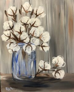 Cotton Jar @ Tipsy Brush