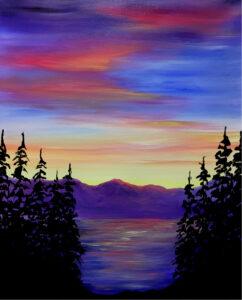 Flathead Sunrise @ Tipsy Brush