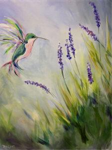 Hummingbird @ Tipsy Brush