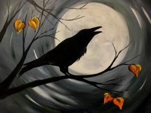 Midnight Raven @ Tipsy Brush