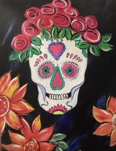 Sugar Skull @ Tipsy Brush