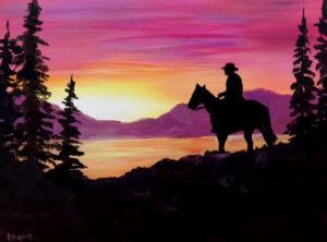 Sunset Rider @ Tipsy Brush