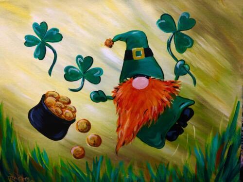 St Patricks Gnome