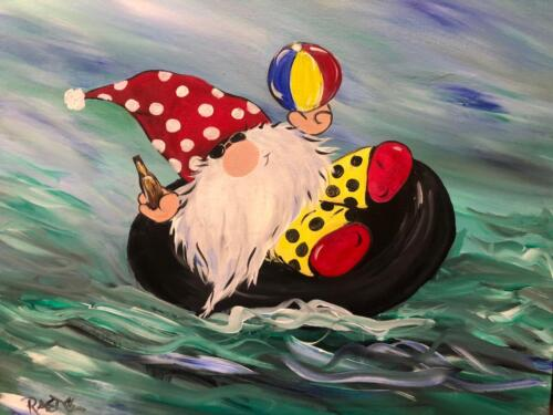 floating gnome