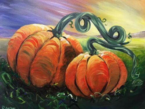 Pumpkin Pair