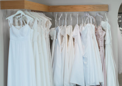 Our Simply Elegant bridal line that we have created for 2nd time brides, park weddings, destination weddings, etc. Gowns are $300 or less.