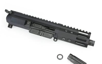 FM-9 5 in. Rear Charging 9mm Complete Upper Receiver